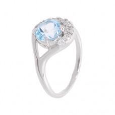 Кольцо с голубым топазом k2b443533bt