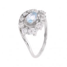 Кольцо с голубым топазом k2b444534bt