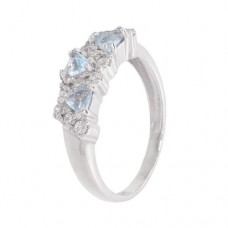 Кольцо с голубым топазом k2b389466bt