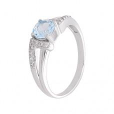 Кольцо с голубым топазом k2b440530bt