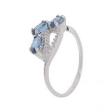 Кольцо с лондон топазом k2b401478lt