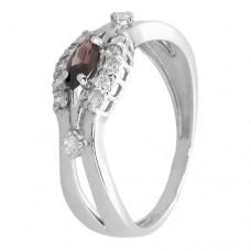 Кольцо с раухтопазом k2b359434rht