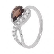 Кольцо с раухтопазом k2b384529rht