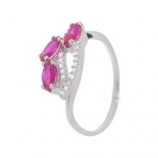 Кольцо с рубином k2b401478rub