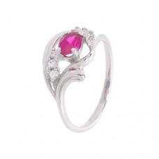 Кольцо с рубином k2b353427rub