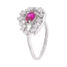 Кольцо с рубином k2b444534rub