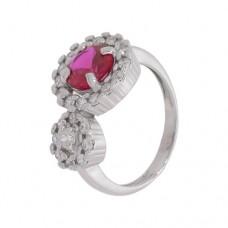 Кольцо с рубином k2b458555rub