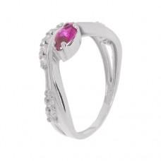 Кольцо с рубином k2b391468rub