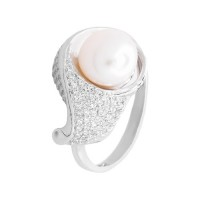 Кольцо с жемчугом k2b336410zhem