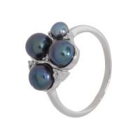 Кольцо с жемчугом k2b400477zhemch