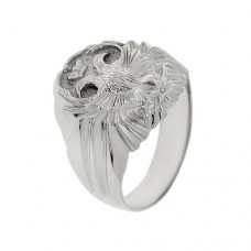 Мужская печатка из серебра 115050