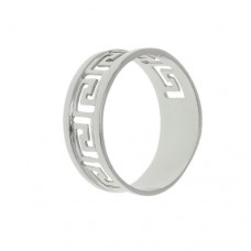 Серебряное мужское кольцо 115261