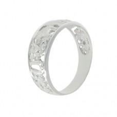 Серебряное мужское кольцо 115268