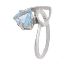 Кольцо с голубым топазом k301535bt