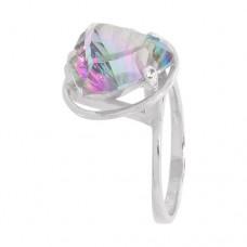 Кольцо с мистик кварцем k12714mqu