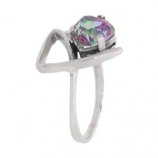 Кольцо с мистик кварцем k271535mqu