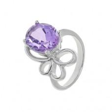 Кольцо с аметистом k131063am
