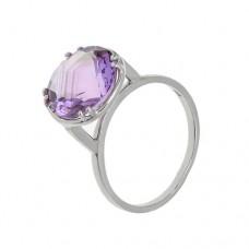 Кольцо с аметистом k13716am
