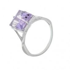 Кольцо с аметистом k13723am