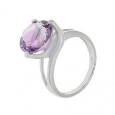 Кольцо с аметистом k161083am