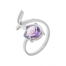 Кольцо с аметистом k17724am