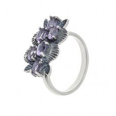 Кольцо с аметистом k4006am