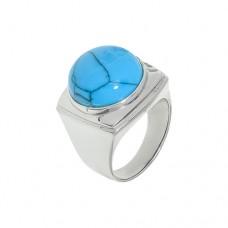 Кольцо с бирюзой k281274tqr