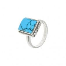 Кольцо с бирюзой k310546tqr
