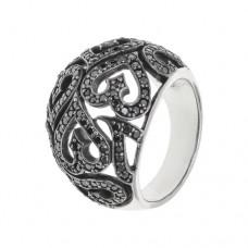 Кольцо с цирконием k601089czb
