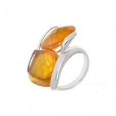 Кольцо с цитрином k221239cz5