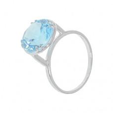 Кольцо с голубым топазом k13716bt