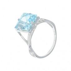 Кольцо с голубым топазом k13723bt