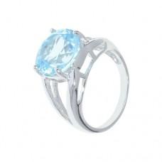 Кольцо с голубым топазом k17700bt