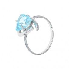 Кольцо с голубым топазом k281427bt