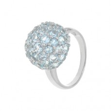 Кольцо с голубым топазом k2r0606bt