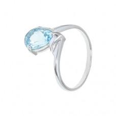 Кольцо с голубым топазом k301555bt