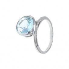 Кольцо с голубым топазом k401558bt