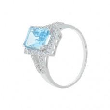 Кольцо с голубым топазом k402096btcz