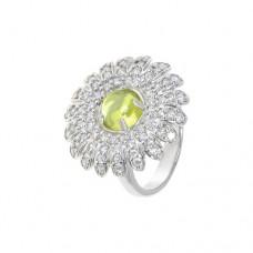 Кольцо с хризолитом k3r13358pecz
