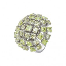 Кольцо с хризолитом k3r13360pe