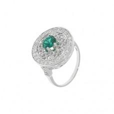 Кольцо с изумрудом k5r0197htem
