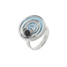 Кольцо с перламутром k16283mop_b