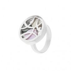 Кольцо с перламутром k1r0282mop