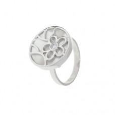 Кольцо с перламутром k271338mop_w