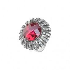 Кольцо с рубином k3r1325htrucz