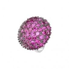 Кольцо с рубином k3r1327htru