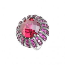 Кольцо с рубином k3r1329htru