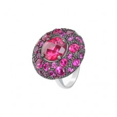 Кольцо с рубином k3r1333htru