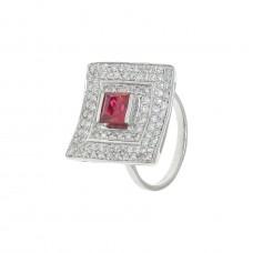 Кольцо с рубином k5r0199htrucz