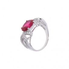 Кольцо с рубином k8p3644htru